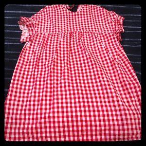 NWOT ASOS Gingham dress